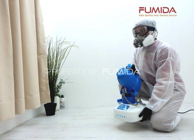 Jasa Penyemprotan Disinfektan di Surabaya