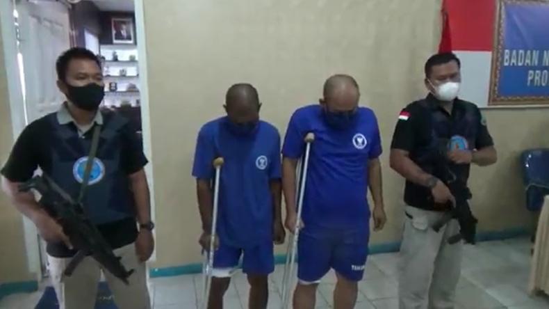 Melawan saat Ditangkap, 2 Pengedar 4 Kg Sabu Pincang Ditembak Petugas BNN