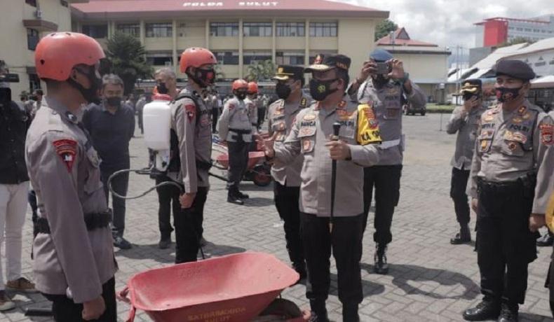 Polda Sulut Apel Siaga Penanganan Karhutla, 300 Personel Disiapkan