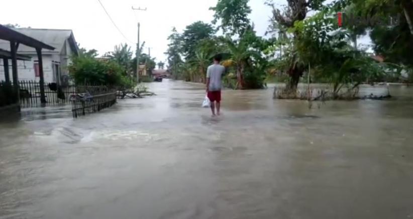30 Desa di Kabupaten Bekasi Masih Terendam Banjir