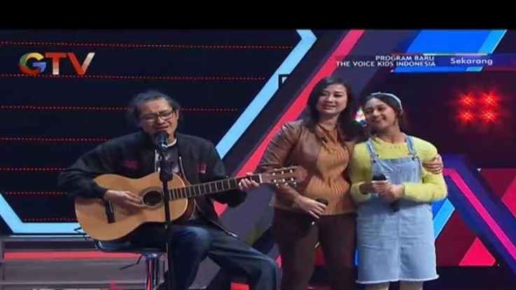 Bikin Coaches The Voice Kids Terpukau, Helena Cinta Ternyata Cucu Musisi Senior Mus Mujiono