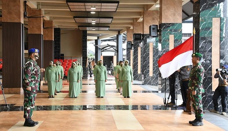 KSAD Andika Terima Laporan Kenaikan Pangkat 12 Jenderal TNI AD