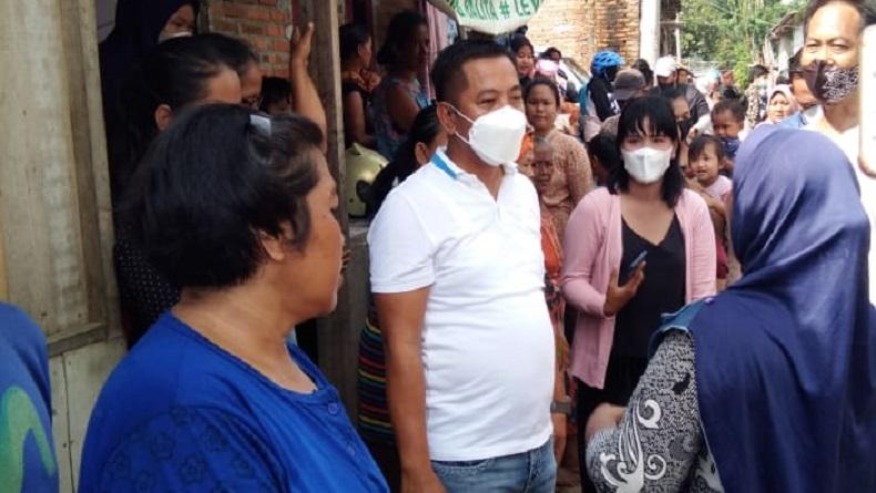 Usai Dilantik, Wabup Karawang Tancap Gas Blusukan ke Lokasi Banjir