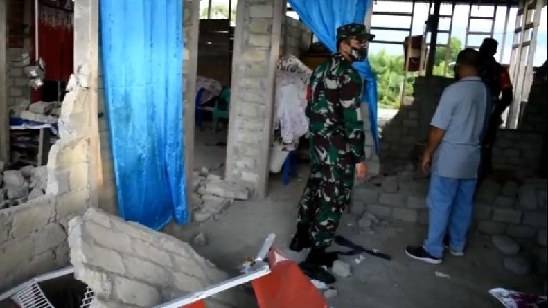 222 Rumah di Halmahera Selatan Rusak setelah Gempa Bermagnitudo 5,2
