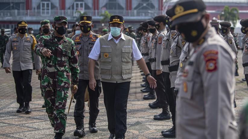 Sosialisasi Vaksinasi di Sumsel, TNI-Polri Bentuk Kompi Tracer dan Kompi Vaksinator