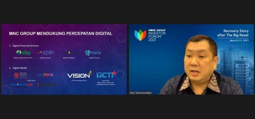 Hary Tanoesoedibjo: MNC Group Dukung Pemulihan Ekonomi Indonesia