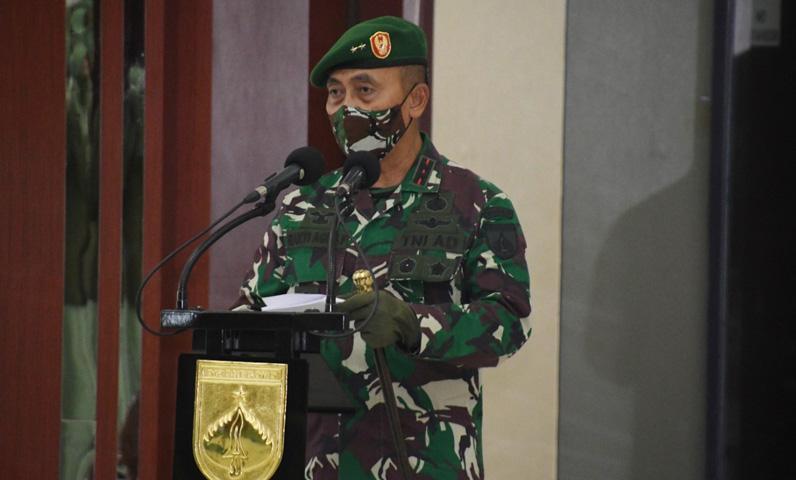 Pimpin Sertijab, Ini Pesan Menggetarkan Pangdam IV/Diponegoro untuk Komandan Korem