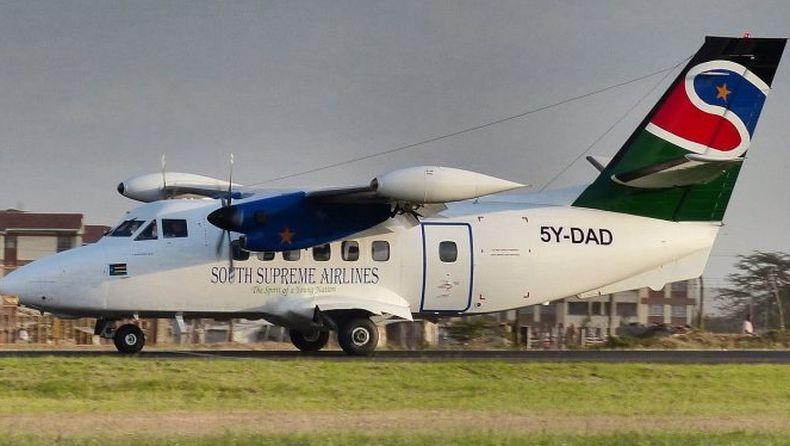 Pesawat Jatuh di Sudan Selatan, 10 Orang Tewas