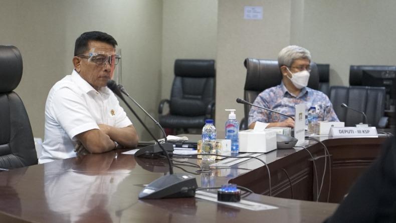 Beredar Kabar Dana Haji Dipakai Pemerintah, Moeldoko: Isu Itu Menyesatkan
