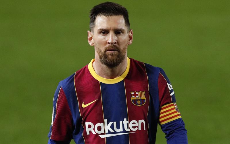 Loncat-Loncat Bak Bocah, Ini Selebrasi Lucu Messi saat Rayakan Gol Pique