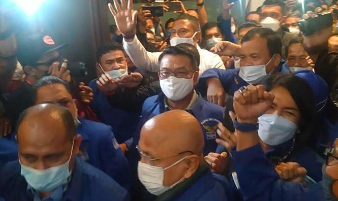 Moeldoko Pidato Politik di KLB, Serukan Kader Kembalikan Kejayaan Partai Demokrat