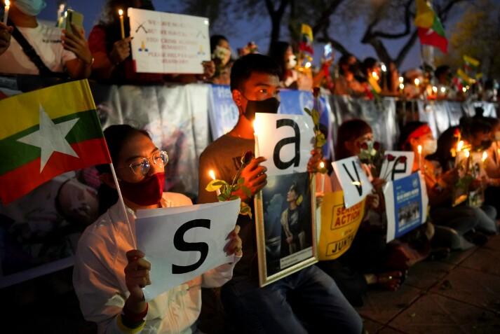 Aparat Myanmar Tembak Mati Demonstran, Singapura: Itu Aib Negara, Memalukan!