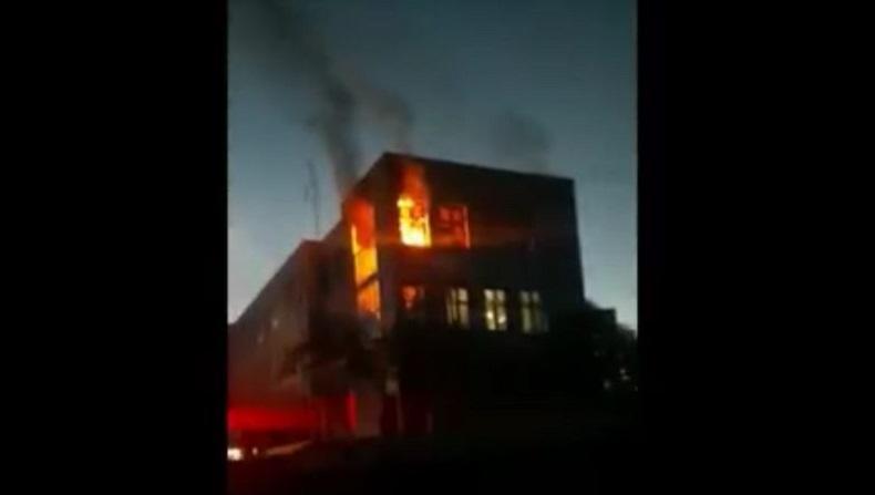 Kebakaran Kantor Pemkab Bireuen, Polisi Selidiki Asal Api