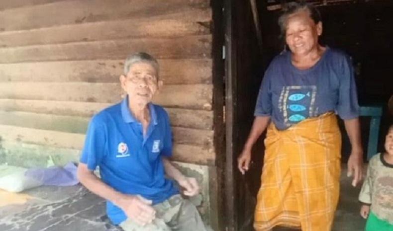 Suami Gangguan Jiwa, Istri di Batubara Banting Tulang Nafkahi Keluarga dengan 3 Anak