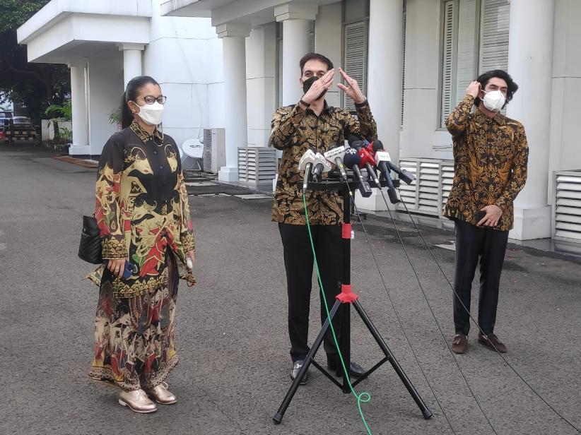 Bertemu Jokowi, Reza Rahardian hingga Marcella Zalianty Bahas Soal Industri Film yang Lesu