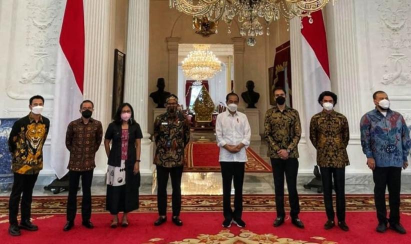 Presiden Jokowi Sambut Baik Usulan Penyelamatan Industri Film Nasional
