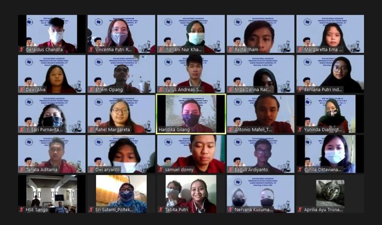 Mahasiswa Teknik Kimia Polteka Semarang Gelar KKL Daring, Begini Jadinya