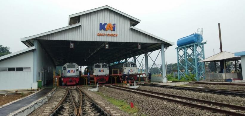 Pamer Depo Lokomotif Cipinang, Menhub: Paling Besar dengan Biaya Rp500 Miliar