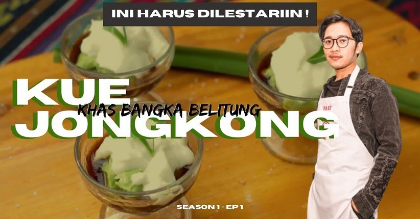 Cara Membuat Kue Jongkong Manis dan Gurih Khas Bangka Belitung