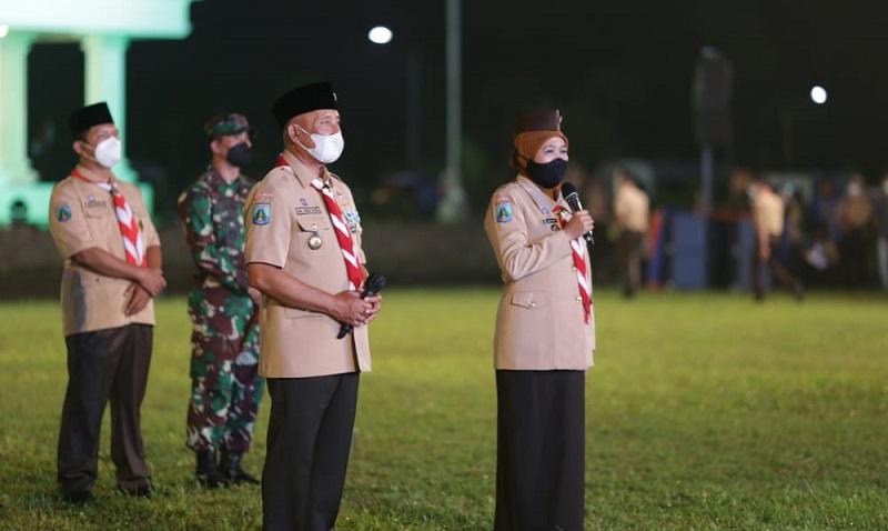 Gubernur Khofifah: PersemiTerobosan Kemah New Normal Pertama di Indonesia