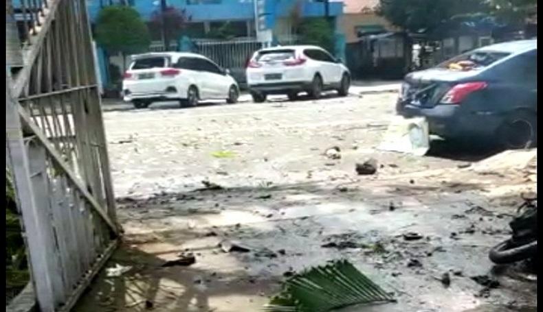 Ledakan Bom di Gereja Katedral Makassar, Polri: Pelaku Diduga 2 Orang
