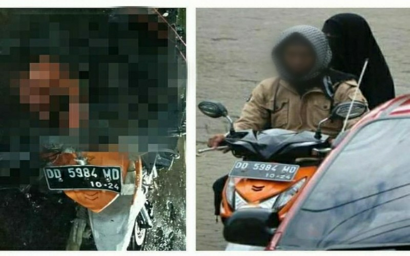 Suami Istri Baru Menikah, 2 Pelaku Bom Bunuh Diri di Makassar Ternyata Kelahiran 1995