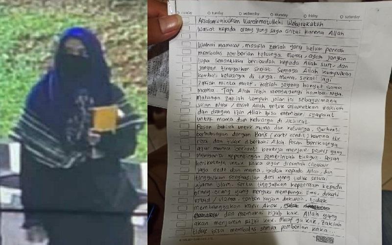 Surat Wasiat Penyerang Mabes Polri Sebut Nama Ahok, Begini Isinya