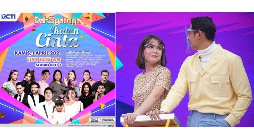 Sinetron Ikatan Cinta RCTI Dapat Rekor MURI, Aldebaran dan Andin Bahagia