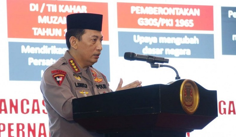 Sah! Kapolri Listyo Sigit Prabowo Jadi Ketua Umum PB ISSI 2021-2025