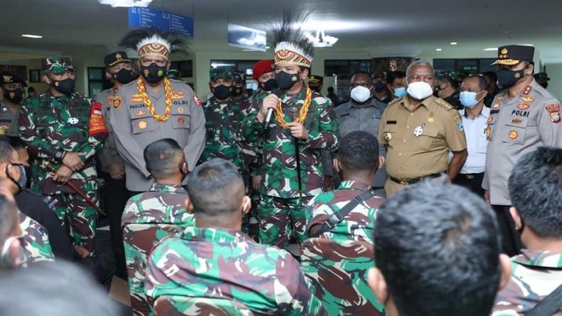Gubernur Dominggus Mandacan Usulkan Penambahan Bintara AL dan AU ke Panglima TNI