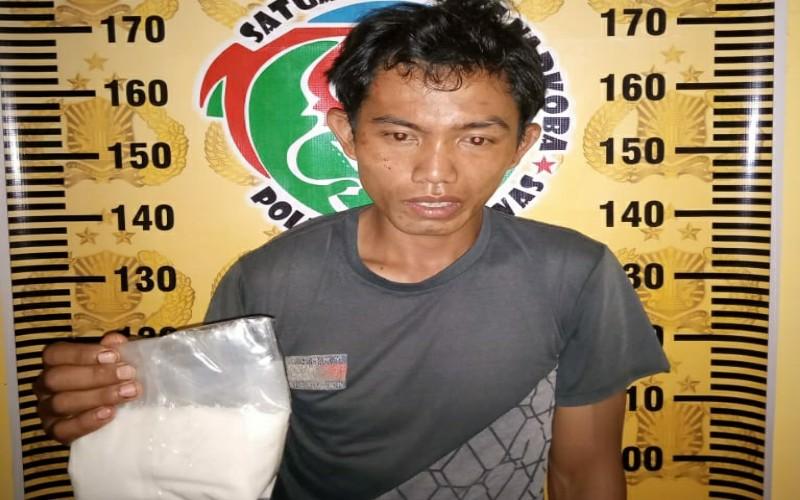 Polisi Tangkap Kurir Narkoba di Musi Rawas, 460 Gram Sabu Ditemukan