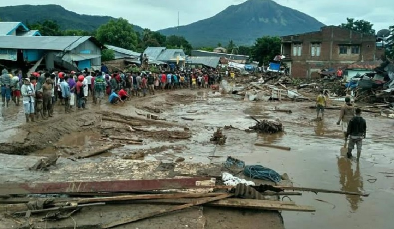 Pengungsi Banjir Bandang NTT 8.424 Orang, Terbanyak di Sumba Timur