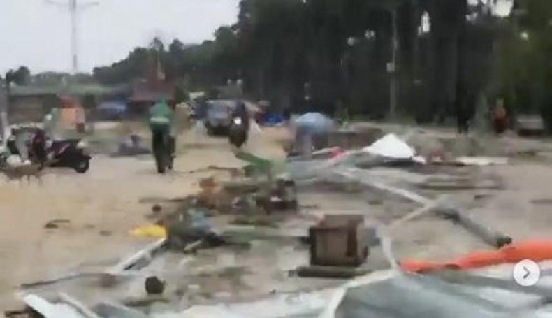 Diterjang Banjir dan Angin Kencang, Kota Kupang NTT Porak-poranda