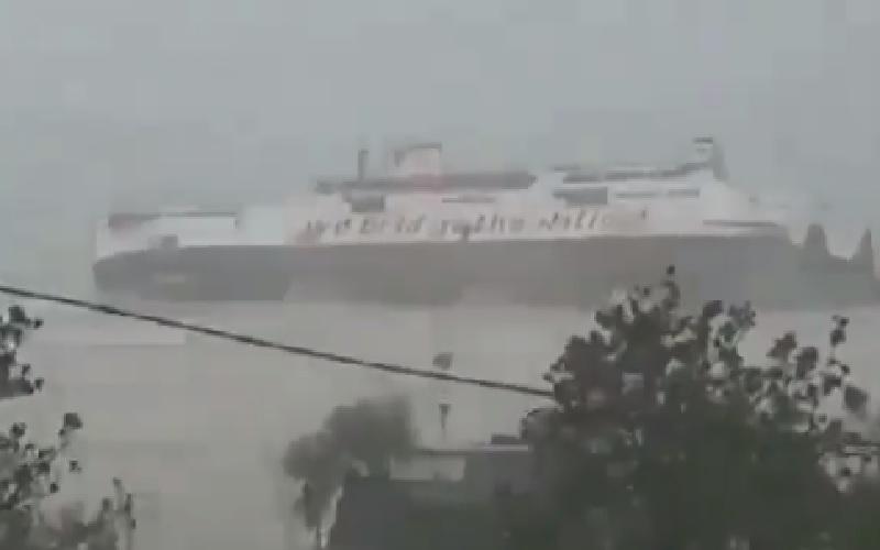 KMP Jatra 1 Tenggelam di Pelabuhan Bolok NTT