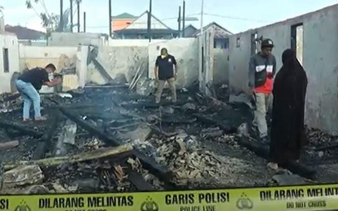 Kebakaran di Bone Hanguskan 10 Rumah, Nenek dan Cucu Tewas Berpelukan
