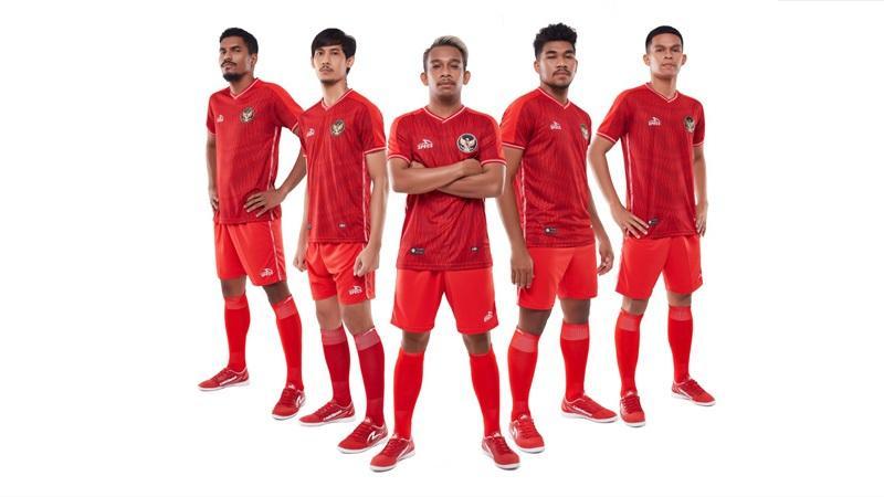 Keren! Begini Jersey Kandang Timnas Futsal Indonesia yang Baru
