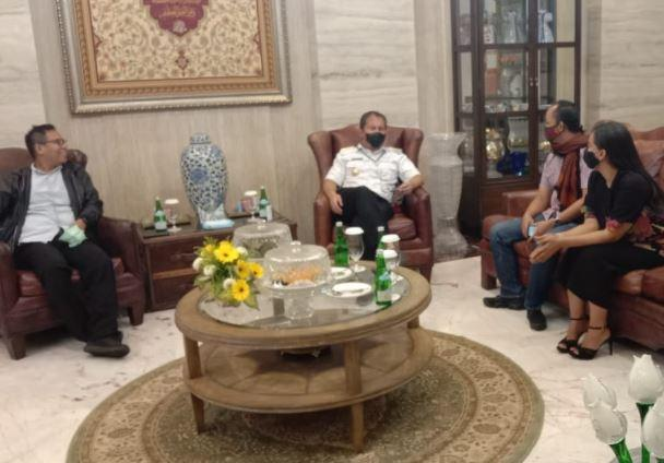 Bertemu Manajemen MNC Portal, Wali Kota Danny Paparkan Program Makassar Recover