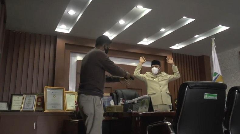 Bupati Disandera Teroris, Pasukan Khusus Gegana Brimob Polda Aceh Unjuk Gigi