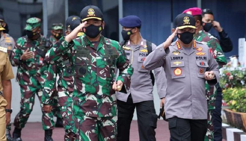 HUT Ke-75 TNI AU, Ini Harapan Panglima TNI dan Kapolri