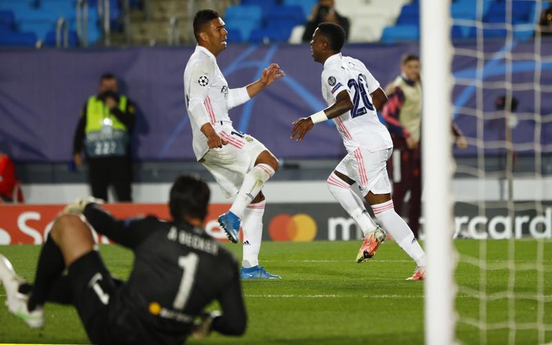 Vinicius Junior Menggila, Real Madrid Buat Liverpool Bertekuk Lutut