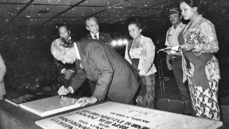 Potret Lawas Pak Harto Resmikan TMII : 44 Tahun Dikuasai Cendana, Kini Dikelola Negara