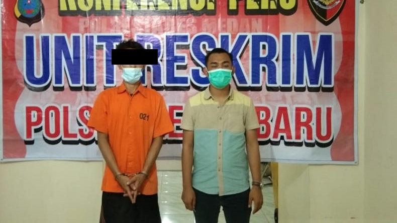 6 Bulan Buron, Pelaku Penggelapan Motor di Medan Ditangkap di Labuhanbatu