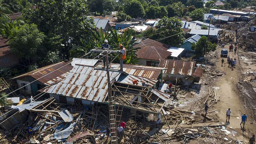 Pemulihan Infrastruktur Rusak akibat Bencana Banjir Bandang NTT - Bagian 3