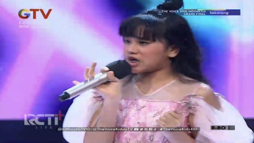 Nikita Mawarni Juara The Voice Kids Indonesia Season 4