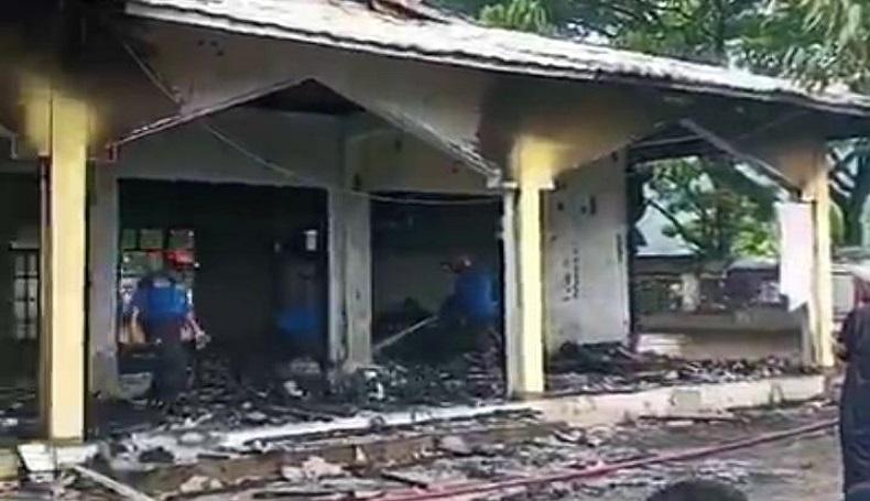 Beginilah Kondisi Masjid di Cianjur Usai Terbakar, Netizen Ungkap Keprihatinan