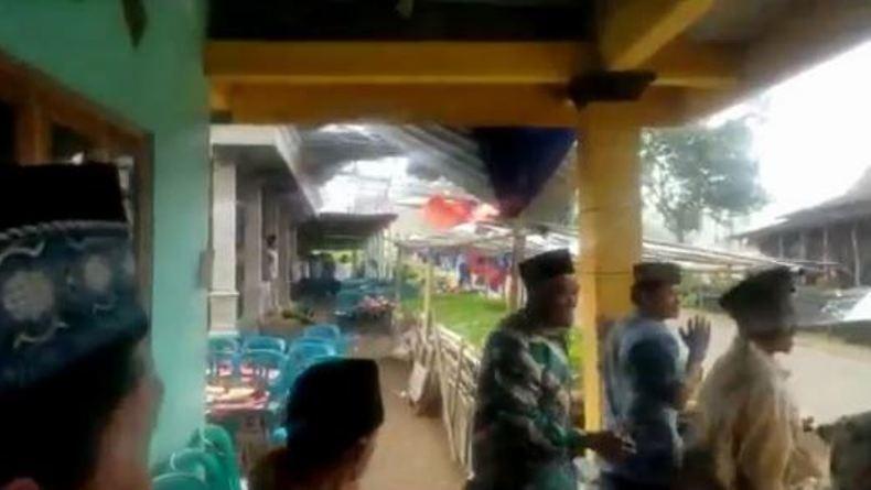Puting Beliung Terjang Tenda Hajatan di Boyolali, Tamu Kalang Kabut