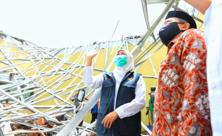 Usai Gempa M 6,1, Gubernur Khofifah Minta Warga Jatim Waspada Banjir Bandang dan Longsor