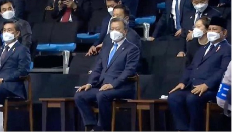 Bertemu Presiden Korea, Prabowo Bahas Kerjasama Alutsista