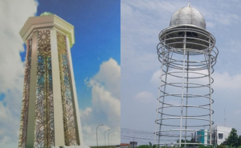 Viral Bentuk Tugu Pamulang Tak Sesuai Desain, Kadis PUPR Banten: Saya Sedih  Lihatnya