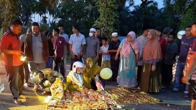 Tragis, Bocah Perempuan 10 Tahun Tewas Terlindas Truk di Jalan Banda Aceh-Medan